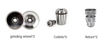 PURROS PG-X6R Spiral end mill sharpening machine, end mill re-sharpener manufacturer, end mill grinder