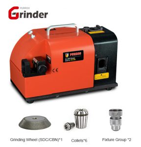 PG X3B End Mill Grinder Standard Equipment, End Mill Grinding Machines
