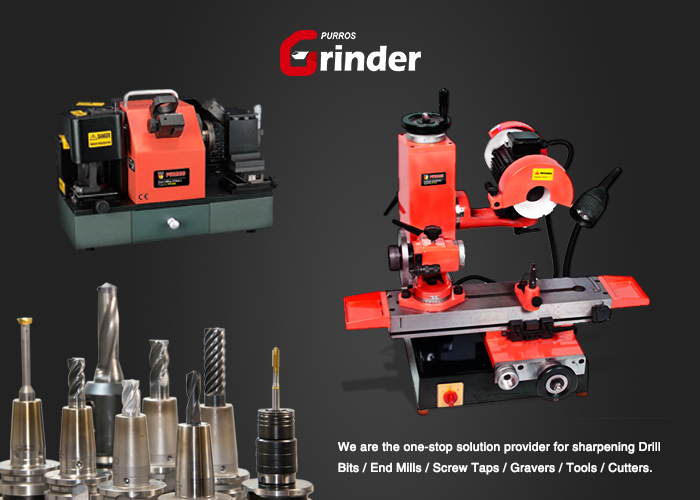 The key point of tool grinding PURROS drill bit grinder, universal tool grinding machine